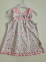 New style baby clothes 100% cotton confortable infant girls dress