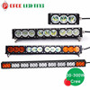 2015 hot single row 90w 120w 180w 210w 240w multi color led light bar for car 4x4 accessories