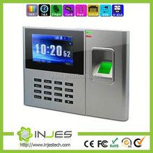 TCP IP Based Employee Attendance Fingerprint Time Management Calculators