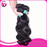 "alibaba express cheap price for peruvian body wave hair 18"" 18"" 18"" nature color 100% peruvian human hair"
