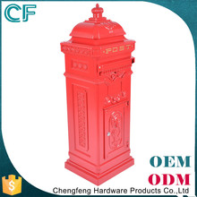 Wholesale Waterproof Odm/Oem Aluminium Colored Mailboxes For Apartments