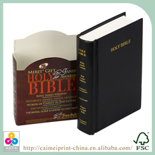 Por encargo de la fábrica king james version biblia, santa biblia impresión