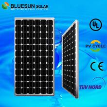 125 monocrystalline 200W silicon solar cell