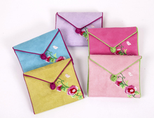 hot design OEM high quality Chinese knot bead girl's personal napkins pouch sanitary napkin bags