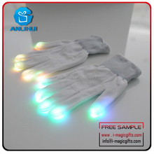Wholesale Novelty gifts LED Mitten Gloves For Party