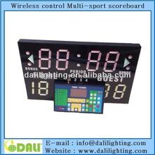 electronic score board supplier/Collegiate LED scoreboard/digital indicators score