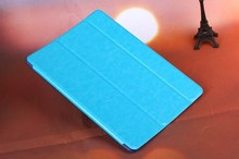 Factoy promotio PU Leather Flip Cover Case For iPad5
