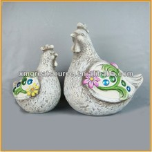 2015 new product custom resin decoration cock