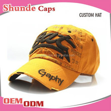 Promotional Custom Embroidery Baseball Cap /Sports Cap /Hat And Cap