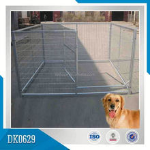 Small MOQ Galvanized Cheap Dog Kennels For Indoor