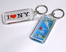 acrylic key ring with picture