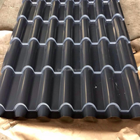 Bright color roof /PPGI corrugated steel sheet for building
