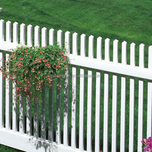 2013 arrival alibaba products different pvc picket privacy fence from OEM FACTORY
