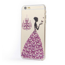 New promotional jeweled cell phone case for iphone 6 new design luxury diamond mobile phone case