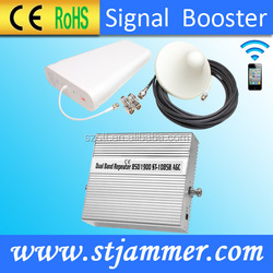 cell phone signal booster for 2G Voice 3G Data Verizon 850 1900mhz Dual band amplifier
