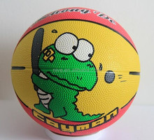 Perfect!!! Colorful rubber basketball size 3 Factory Direct Supply Low Price