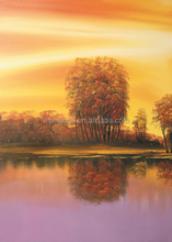 attractive price Natural scene tree oil paintings