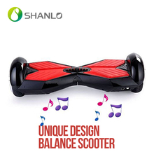 6.5 inch 2015 usa hottest two wheels electric scooter self balancing with bluetooth and light in the front