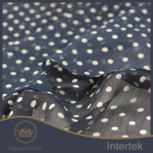 Competitive price with abundant stock high-grade material digital print chiffon fabric