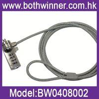 DA124 cable notebook lock