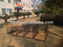 Hot Selling Foldable Two Doors Cheap Designer Dog Crates