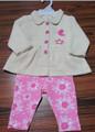 Crianças roupas de menina atacado definir/baratos bebê menina de roupas