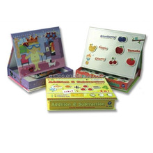 New creative activity magnetic learning book for Kids