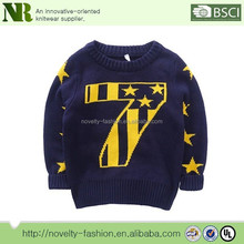 100% cotton children's Christmas Sweater Wholesaler,christmas pullover sweater