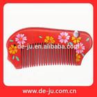 Promoção cuidados pessoais produtos noiva pente sorte para corte de cabelo de casamento vermelho