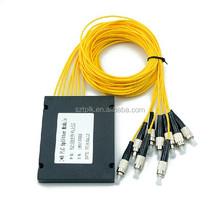 1*8 FC SC ST LC PLC Fiber Optical Pigtail Splitter LOSS