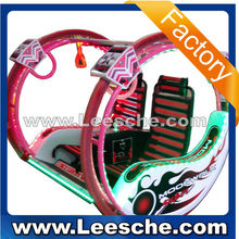 Leesche new amusement park kiddie rides luxury travelling car game happy Go Kart Happy Car II for sale shopping mall
