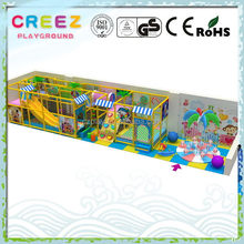 Contemporary cheapest latest family soft play equipment