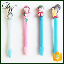 children gift polymer clay ball pen for children gift,pen