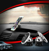 A-6 magnetic cell phone holder PU suction car vent phone holder Car Mount gps mount holder