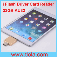 i Flash Driver Card Reader for iPhone 5/5S/6/6 Plus with 32GB Storage (AU32)