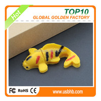 New promotional products from China PVC16GB lucky fish pendrive