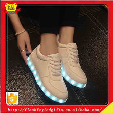 Amazing Color Change New Promotional Gift Items LED Luminous Shoes For Dancer Manufactory