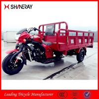 Shineray 250cc Cargo Use Petrol/Gasoline Motor Tricycle, Gasoline Engine Three Wheel Motorcycle