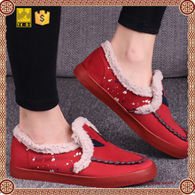 2015 fashion design global warming shoes for women casual slip on shoes
