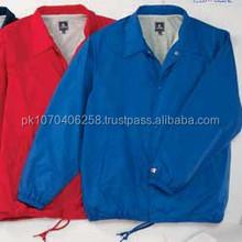 New Custom made High quality Custom Coach Jackets, cheap custom jacket Red/Royal