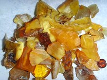 natural amber rough