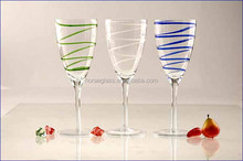 Wine Glass Glass Type and LFGB/FDA,CIQ,CE / EU/SGS/EEC Certification stem wine glass