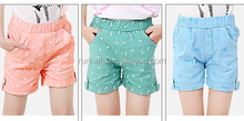 Boutique stylish ruffle baby girl cotton shorts