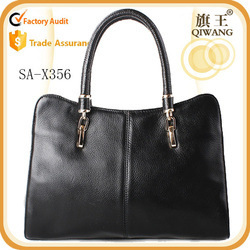 top quality cow leather tote bag famous brand 2015 shoulder bag women