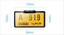New Design Car License Plate Camera for Dubai Market/ Rear View Camera