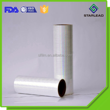 Sample offer transparent holographic thermal laminating BOPP PET film for paper board compound
