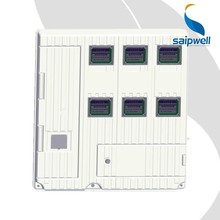 SAIP/SAIPWELL New Product Six Units SINGLE PHASE MECHANICAL ELECTRIC METER