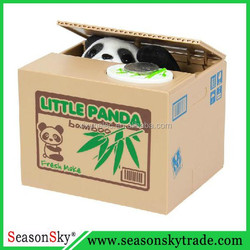 Steal Panda Money Box Saving Box Coin Bank