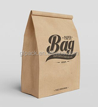 Eco friendly custom printed shopping gift paper bag with logo print