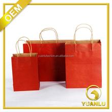 kraft paper bag / brown paper bag / paper bag packaging